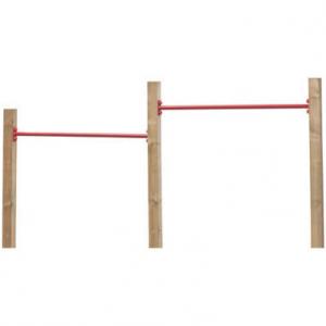 Speel rek Rekstok t.b.v. vierkante palen 9.0x9.0cm
