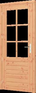 Trendhout stapeldorpeldeur enkel Douglas onbeh RD 830x2060mm