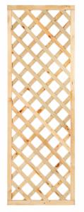 Trellis diagonaal recht met rechte lijst 60cm
