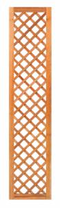 Trellis diagonaal met lijst hardhout B40xH180cm