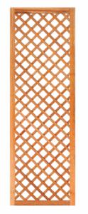 Trellis diagonaal met lijst hardhout B60xH180cm