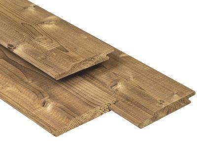 Caldura Wood Overhangend Rabat 18x141mm