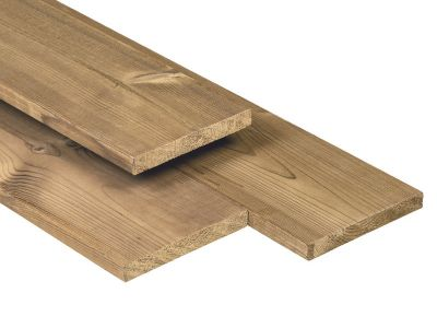 Caldura Wood Plank 18x140mm Thermisch Gemodificeerd