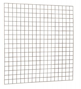 Gaaspaneel met maas 10 x 10 cm stekloos, verzinkte draad, 18