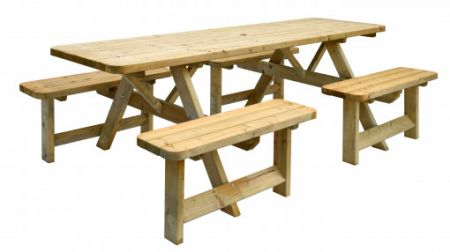 Picknicktafel Family bladmaat 70x240cm
