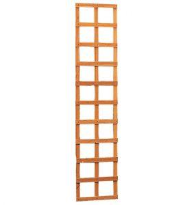 Hardhouten trellis rechthoek 40 x 180 cm.