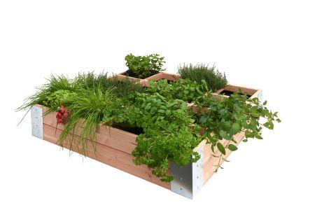 Douglas minigarden vierkante meter 100 x 100 x 20 cm, onbeha