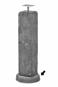 Beton wegzakpreventie Diameter 25 cm