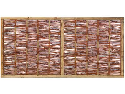 Tuinscherm Wilgenteen 180cm